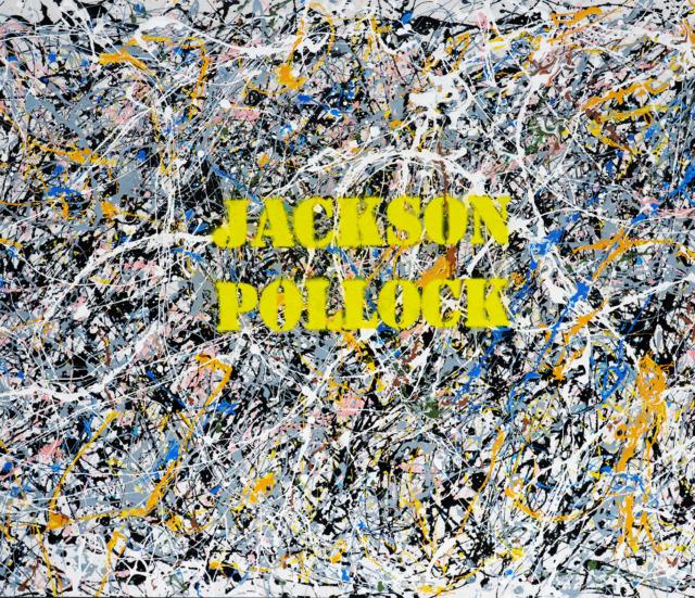 Jackson Pollock, sand, acrylic colors and spray on canvas, cm 142 x 93,5