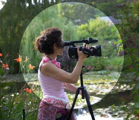 Monica Gorini_in Giverny-Monets-jardin